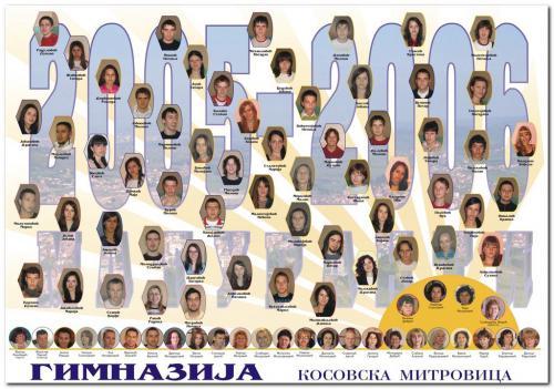 Матуранти 2005/2006