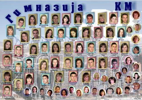 Матуранти 2007/2008